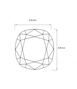 Cushion Shape 1.55 Carat VVS1 Diamond
