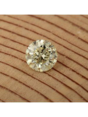 Round Shape 1.30 Carat SI1 Clarity Enhanced Diamond